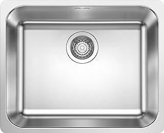 Blanco 铂浪高 523361 Supra 500-IF 厨房水槽 不锈钢刷头 500毫米 水槽宽度