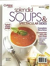 Cuisine At Home Splendid Soups & Spectacular Sides Magazine (Sandwiches & Salads Magazine 2 in 1 Flip Magazine, 2009)