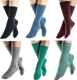 ALBERO, 2 pares de calcetines de algodón orgánico GOTS para mujer y hombre, para el tiempo libre