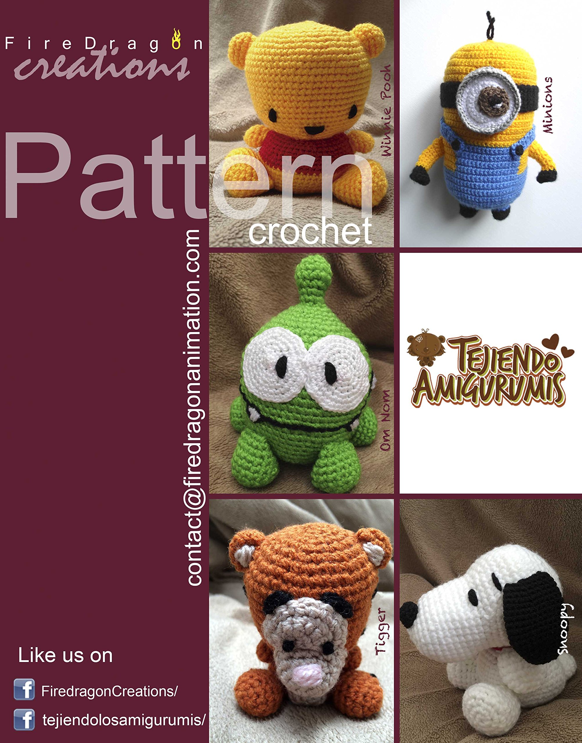 Crochet Book Alert! Make your favorite characters from the Peanuts ... | 2560x2005