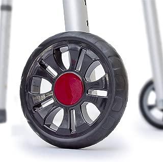 TREADZ/Sport Edition: Universal Walker Wheel Kit with FREE FlexFit Skis (Rockin Red)