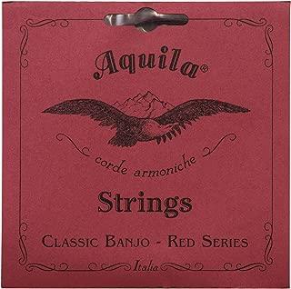 Aquila Red Series AQ-11B Banjo Strings – Medium Tension DBGDG-Set of 5
