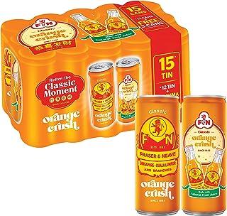 F&N ORANGE CRUSH, 240 ml (Pack of 15)