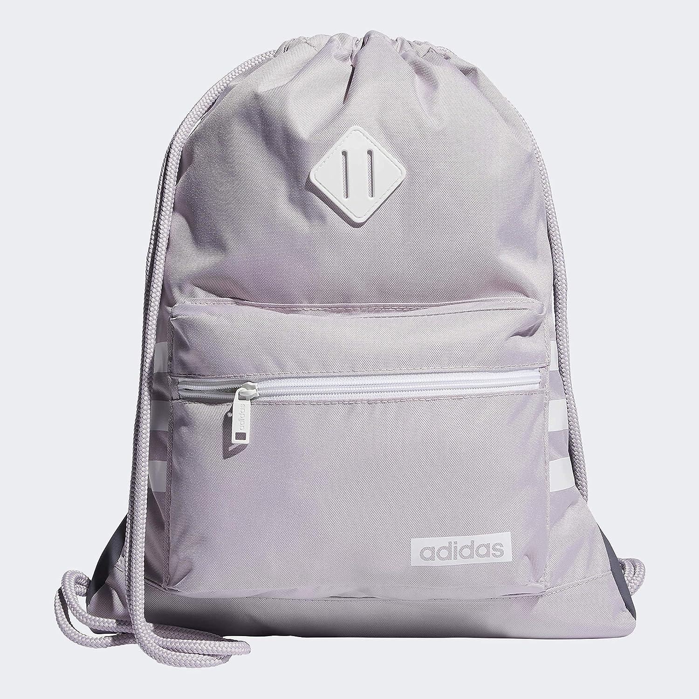 Buy adidas Unisex Classic 3S Sackpack, Mauve/White, ONE SIZE ...