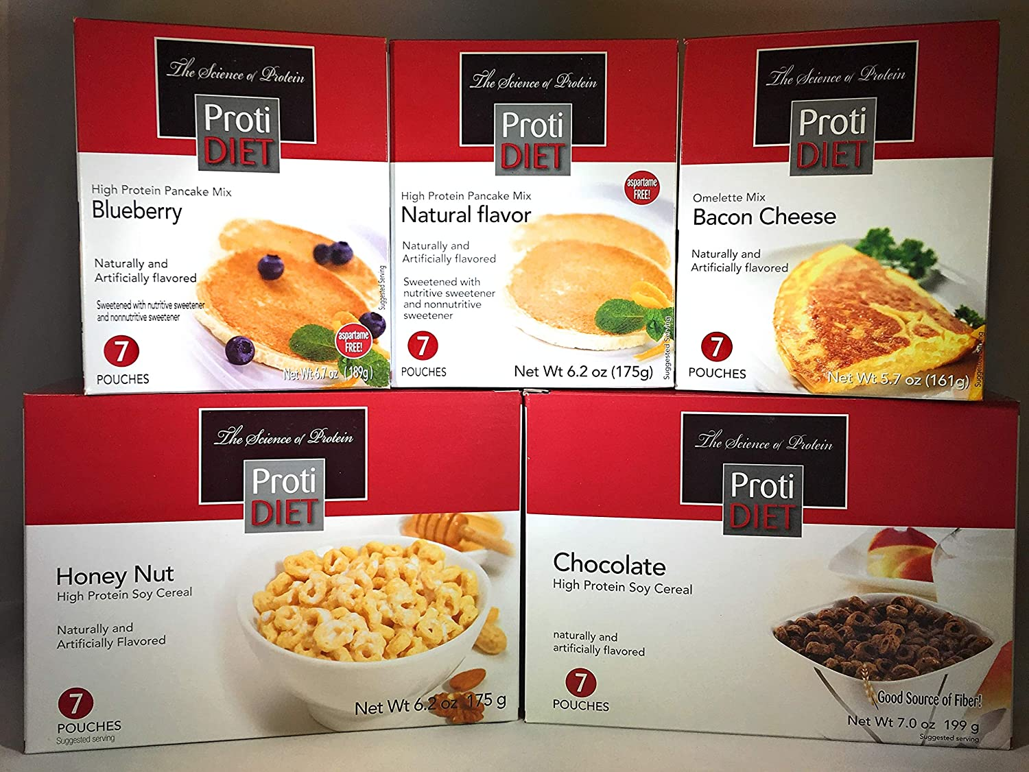 Proti Diet Max 43% OFF Breakfast Sampler by Being - 5 Well Choice Differ Essentials