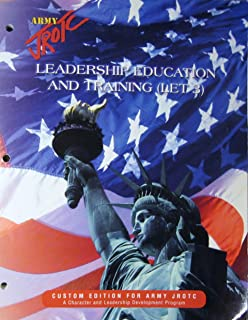 Army JROTC Leadership Education and Training (LET 3) Custom Edition For Army JROTC