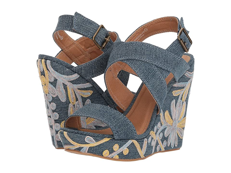 Not Rated Cassia (Blue) High Heels
