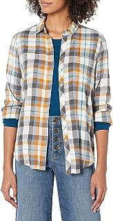 Women's Classic One Pocket Plaid Shirt