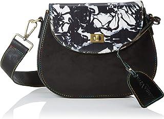 Shopper para Mujer W x H x L MTNG Macron Antel//Liso Neg Negro 10x31x45 cm