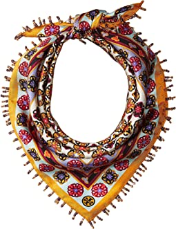 Tory Burch - Medallion Silk Neckerchief