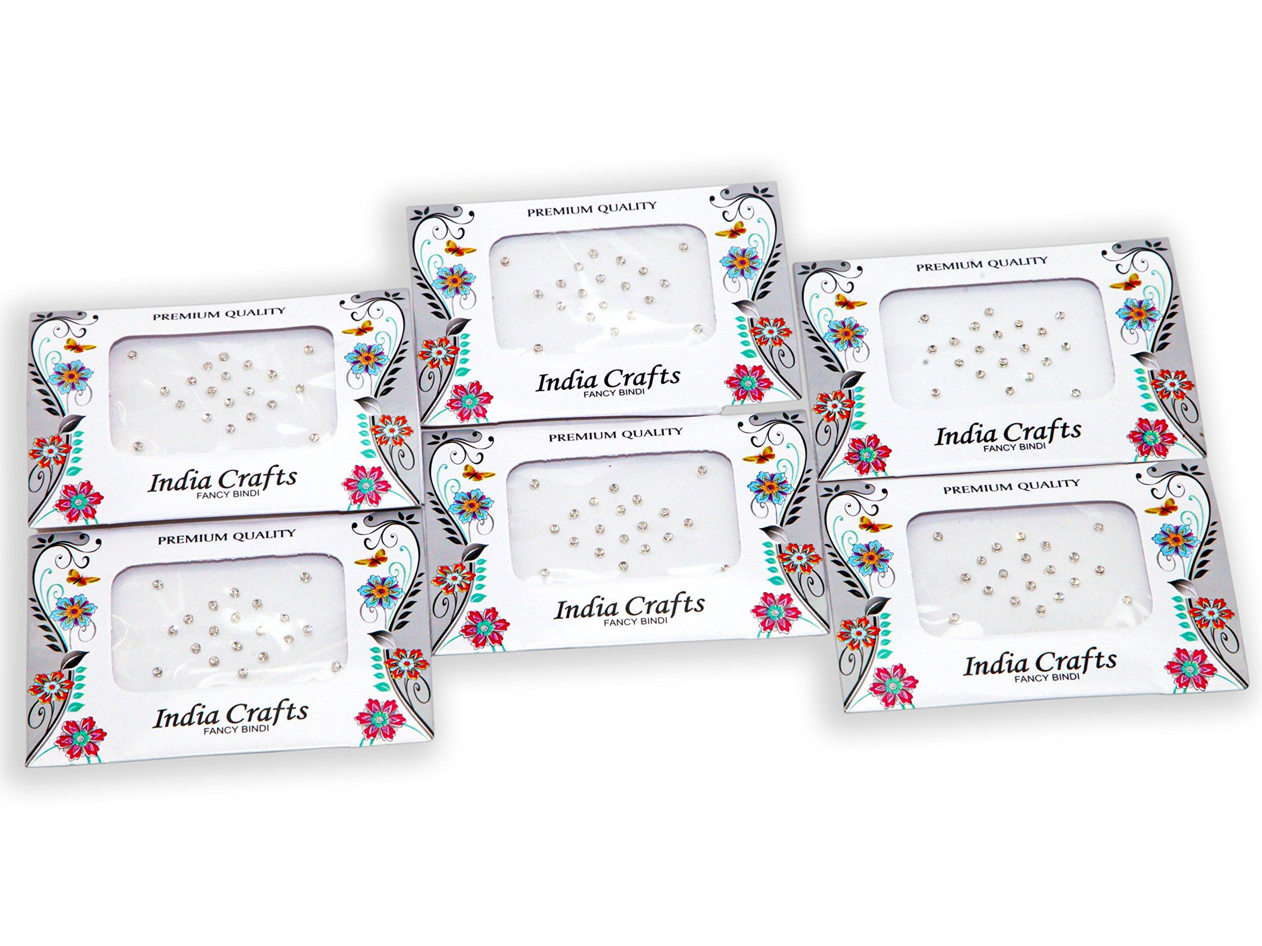 120 Bindi Dots Diamond Crystal Fake Nose stud/Ear Stud India Crafts bindi stickers bindi crystal