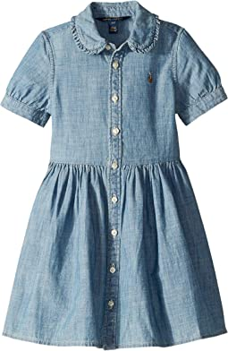 Ruffled Chambray Dress (Toddler)