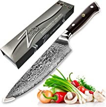 Best damascus knife chef Reviews