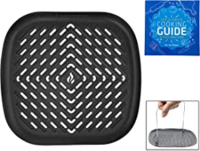 Air Fryer Grill Pan Set Accessories Compatible with Philips Air Fryer, NuWave Brio, Chefman, Cozyna, Emerald, Power Air Fryer, Maxi Matic, Secura, Tidylife +More Fryer by Infraovens (SMALL)