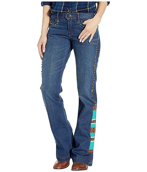 Double D Ranchwear Native Eagle Jeans in Denim