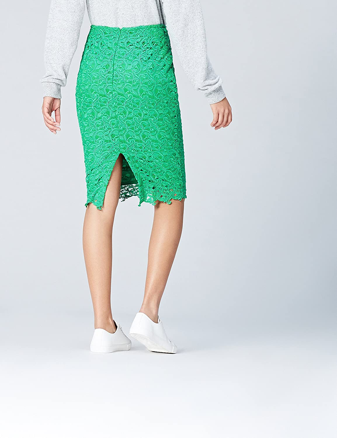 Womens Chemical Lace Pencil Skirt find Brand