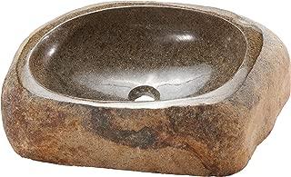 AA Warehousing Lucki-LS River Stone Sink, 22