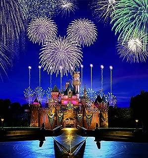 Magic Kingdom Disney Castle Iron On Transfer for T-Shirts & Other Light Color Fabrics #6