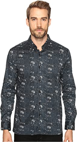 Etched Out Long Sleeve Shirt