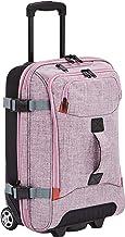 AmazonBasics - Kleine Reisetasche mit Rollen, Lila