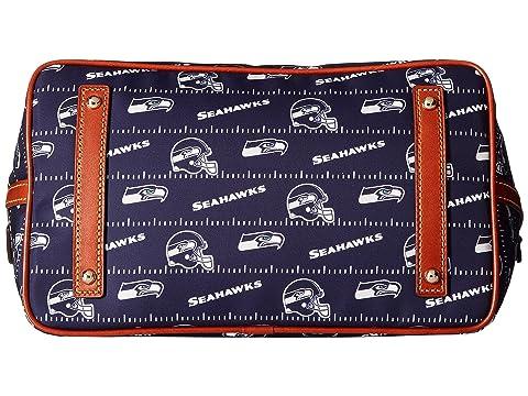 Nylon Navy amp; Satchel Seahawks Tan Gabriella Small Dooney amp; Bourke NFL ICffqF