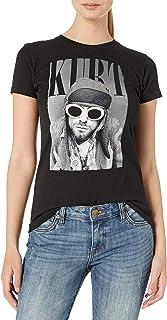 FEA Women's Cobain Kurt in Sun Glasses Juniors Soft Tee