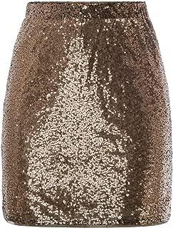 Best glitter gold skirt Reviews