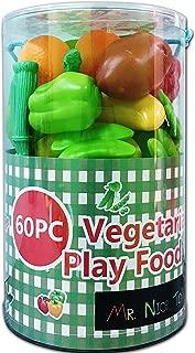 Mr. Nice Toy 60Piece Vegetarian Play Food Set