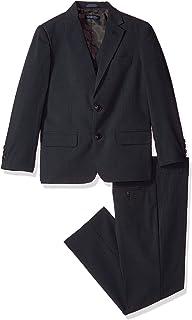 بدلة مكونة من ثلاث قطع مع جاكيت وبنطال وسترة بدون أكمام من نوتيكا