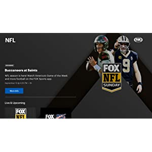 FOX Sports: Stream live NFL, College Football, Baseball, Soccer and more. Plus get scores and news!