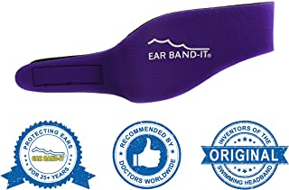 Ear Band-It Swimming Headband - Invented by Physician - Keep Water Out, Hold Ear Plugs in - The Original Swimmer's Headband - Doctor Recommended - Secure Earplugs