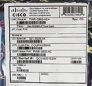 Cisco PWR-3900-AC 3925/3945 AC Power Supply