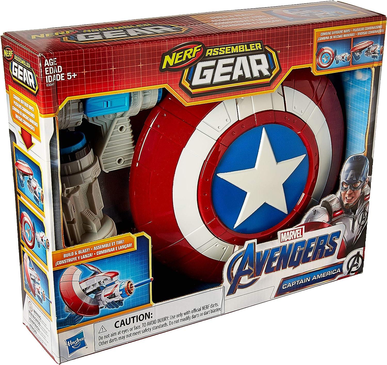 Nerf Captain America Assembler Gear Avengers  Endgame Standard