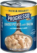 Progresso Soup, Rich & Hearty, Loaded Potato with Bacon Soup, 18.5 oz Can