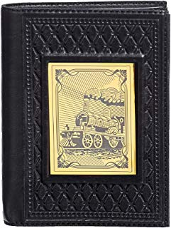 "Passport Organizer Wallet Handmade Leather""Railwayman"" 2"