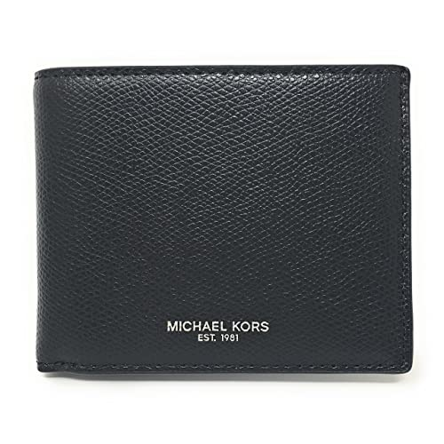 8e4a03c48dae Michael Kors Warren Men's Leather Slim Billfold (Black)