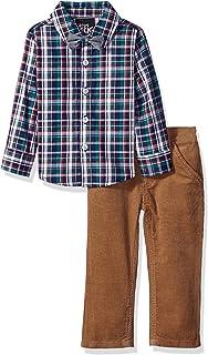Boys Rock Baby-Boys BHBDPS 3 Piece Holiday Button Down Pant Set Pants Set