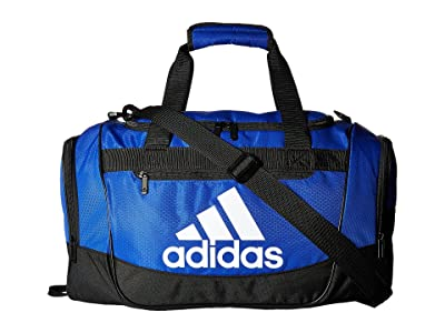 adidas Defender III Small Duffel (Bold Blue/Black/White) Duffel Bags