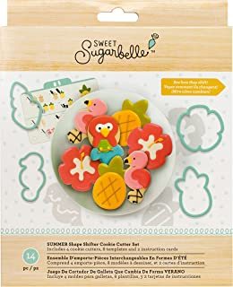 American Crafts 377227 AMC Sugarbelle Summer Cookie Cutter Shifter Set