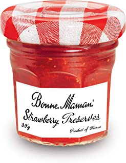 Bonne Maman Strawberry Preserve, 30 gm (Pack of 1)