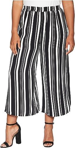 Plus Size Bree Striped Pants