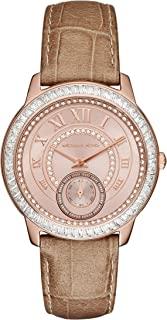 Michael Kors Casual Watch For Women Analog Leather - MK2448