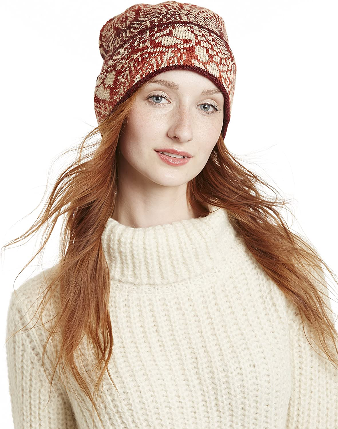 Invisible World Women's 100% Alpaca Raleigh Mall Free Shipping Cheap Bargain Gift Wool Unisex Knit Beanie Hat