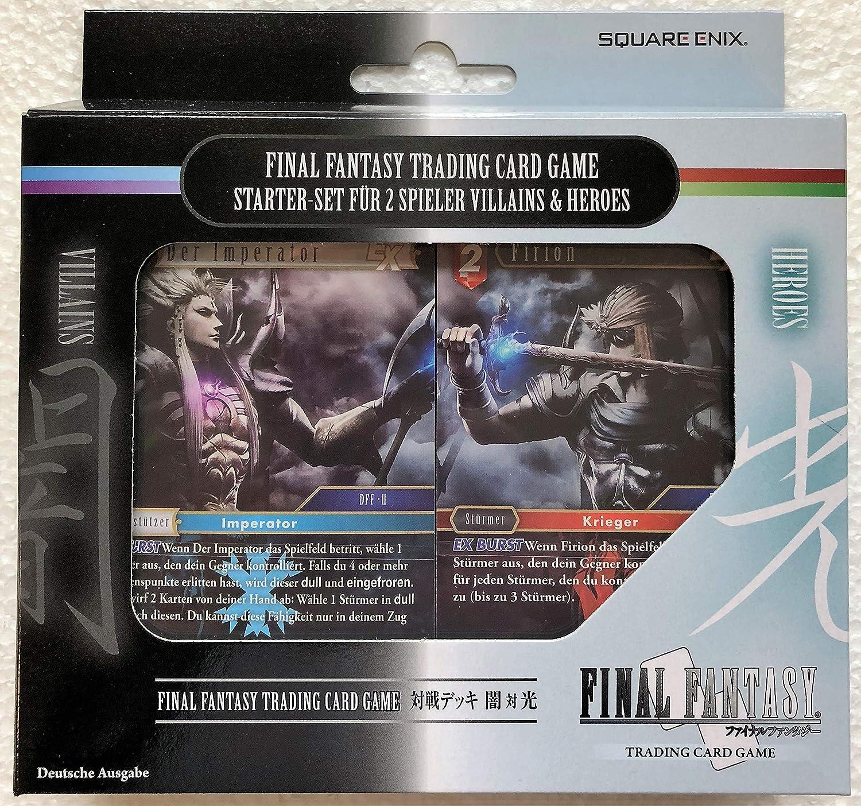 Final Fantasy TCG - Versus Decks Heroes & Villains (dt) B07K35RFM3  Authentische Garantie       Charakteristisch