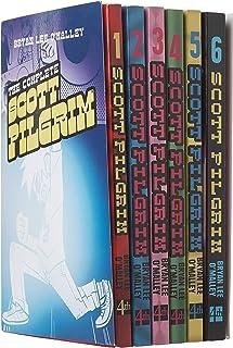 Scott Pilgrim 6 Books Collection Set (Scott Pilgrim's Precious Little Life, Scott Pilgrim vs the World, Scott Pilgrim and the Infinite Sadness, Scott Pilgrim Gets it Together, Scott Pilgrim vs the Universe, Scott Pilgrim's Finest Hour)