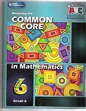 Mastering the Common Core in Mathematics Grade 6 (Mastering the Common Core)