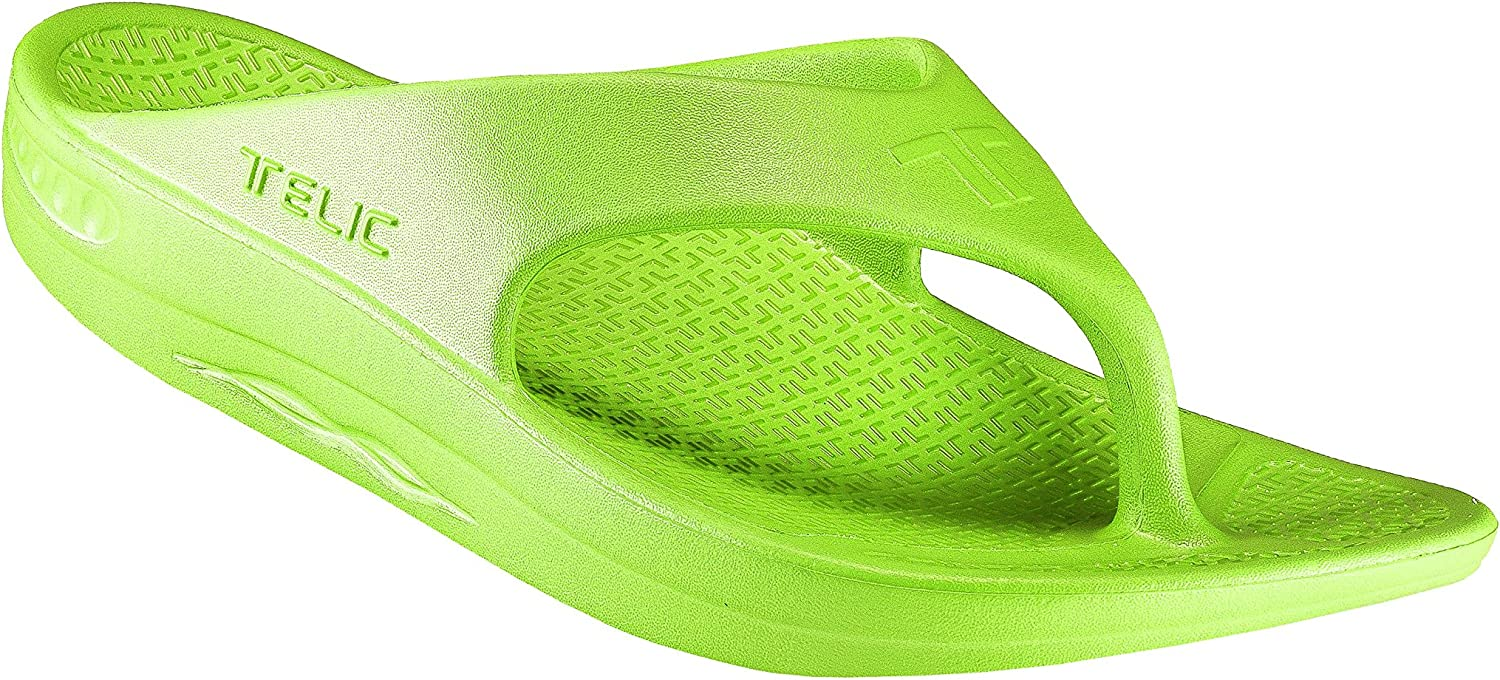 Telic   Terox Flip Flop Sandal shoes color Key Lime