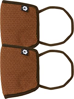 Fort Collins Unisex Cotton Face Mask (Pack of 2) (131_Rust_One Size)