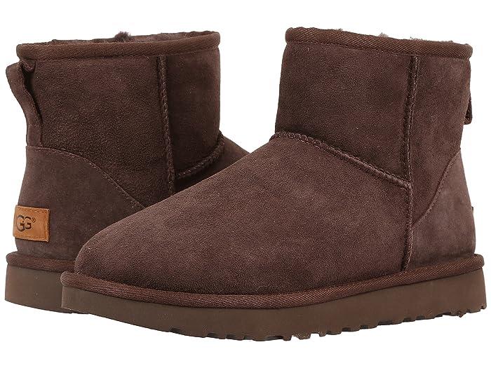 UGG  Classic Mini II (Chocolate) Womens Boots