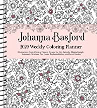 Johanna Basford 2020 Weekly Coloring  Planner Calendar